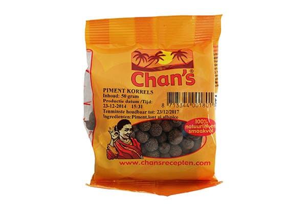 Chan's Piment Korrels-slider