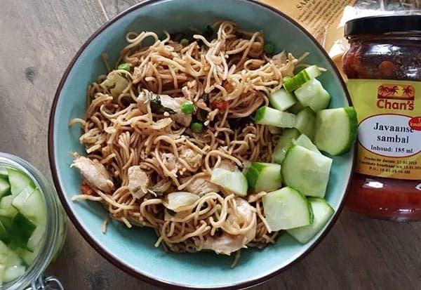 Chan's Javaanse sambal en Bami kruidenmix2
